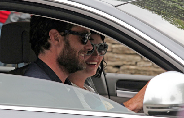 Jude Law in the Cotswolds