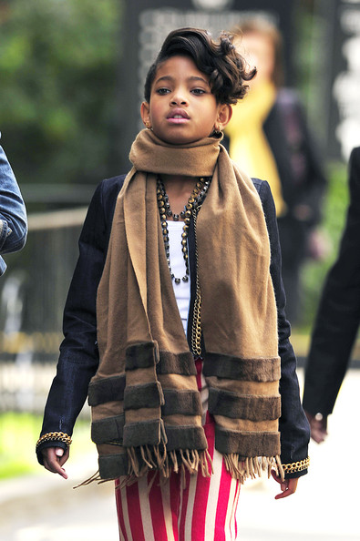 Willow Smith Takes a Walk in NYC