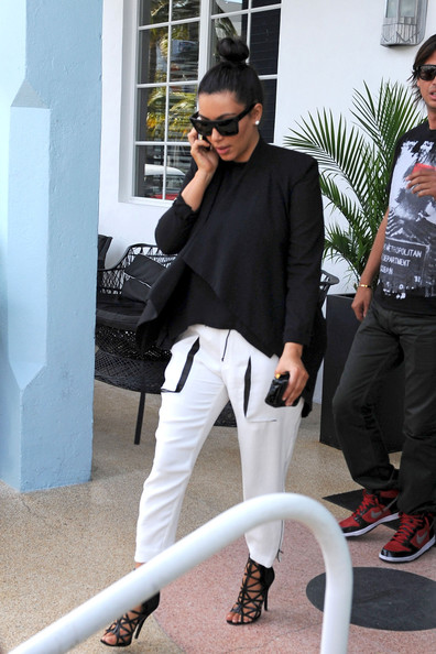 More Pics of Kim Kardashian Evening Sandals (4 of 10) - Evening Sandals Lookbook - StyleBistro