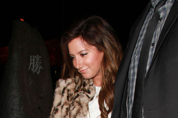 Ashley Tisdale Scott Speer Ashley Tisdale and Scott Speer at Katsuya