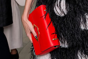 Poppy Delevingne Leather Clutch