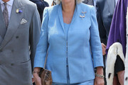 Camilla Parker Bowles Fitted Jacket