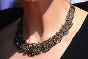 Jane Lynch Diamond Statement Necklace
