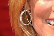Dara Torres Diamond Hoops
