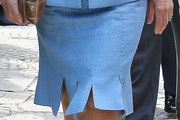 Camilla Parker Bowles Pencil Skirt