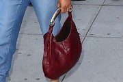 Padma Lakshmi Leather Hobo Bag