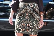 Alessandra Ambrosio Mini Skirt