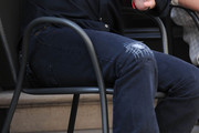 Kiefer Sutherland Ripped Jeans