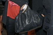 Abbey Clancy Leather Tote