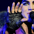 Adam Lambert Leather Gloves