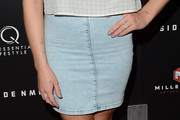 Addison Timlin Denim Skirt