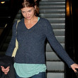 Adrianne Palicki Clothes - V-neck Sweater