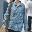 Agyness Deyn Button Down Shirt