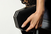 Aimee Garcia Satin Clutch