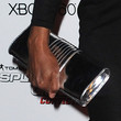 Aisha Tyler Metallic Clutch