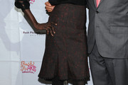 Alek Wek Knee Length Skirt