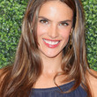 Alessandra Ambrosio Hair - Long Center Part
