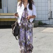 Alessandra Ambrosio Clothes - Print Dress