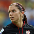 Alex Morgan Ponytail