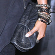 Alexandra Burke Leather Clutch