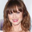 Alexis Bledel Hair - Medium Wavy Cut with Bangs