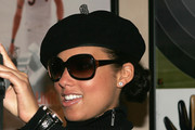 Alicia Keys Wool Beret