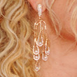 Alyson Michalka Jewelry - Dangling Diamond Earrings