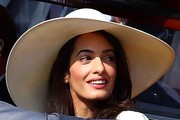 Amal Clooney Casual Hats