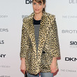 Amanda Peet Clothes - Fur Coat