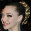 Amanda Seyfried Hair - Braided Bun