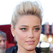 Amber Heard Hair - French Twist