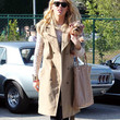 Amber Heard Clothes - Trenchcoat