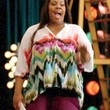 Amber Riley Clothes - Print Blouse