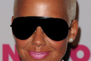 Amber Rose Rimless Sunglasses