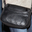 Amy Adams Leather Shoulder Bag