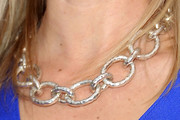 Amy Smart Silver Link Necklace