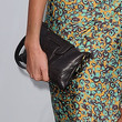 Anastassija Makarenko Leather Clutch