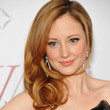 Andrea Riseborough Hair - Side Sweep