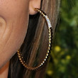 Angela Lindvall Jewelry - Gold Hoops