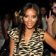 Angela Simmons Long Braided Hairstyle