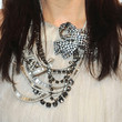Angie Harmon Gemstone Statement Necklace