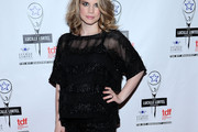 Anna Chlumsky Embellished Top