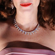 Anna Friel Diamond Choker Necklace