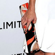 Anna Friel Printed Clutch