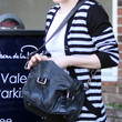 Anna Paquin Leather Messenger Bag