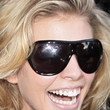 AnnaLynne McCord Designer Shield Sunglasses