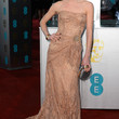Annabelle Wallis Strapless Dress