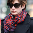 Anne Hathaway Accessories - Patterned Scarf