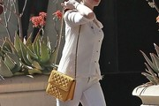 Anne Hathaway Quilted Leather Bag