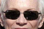 Annie Lennox Rectangular Sunglasses